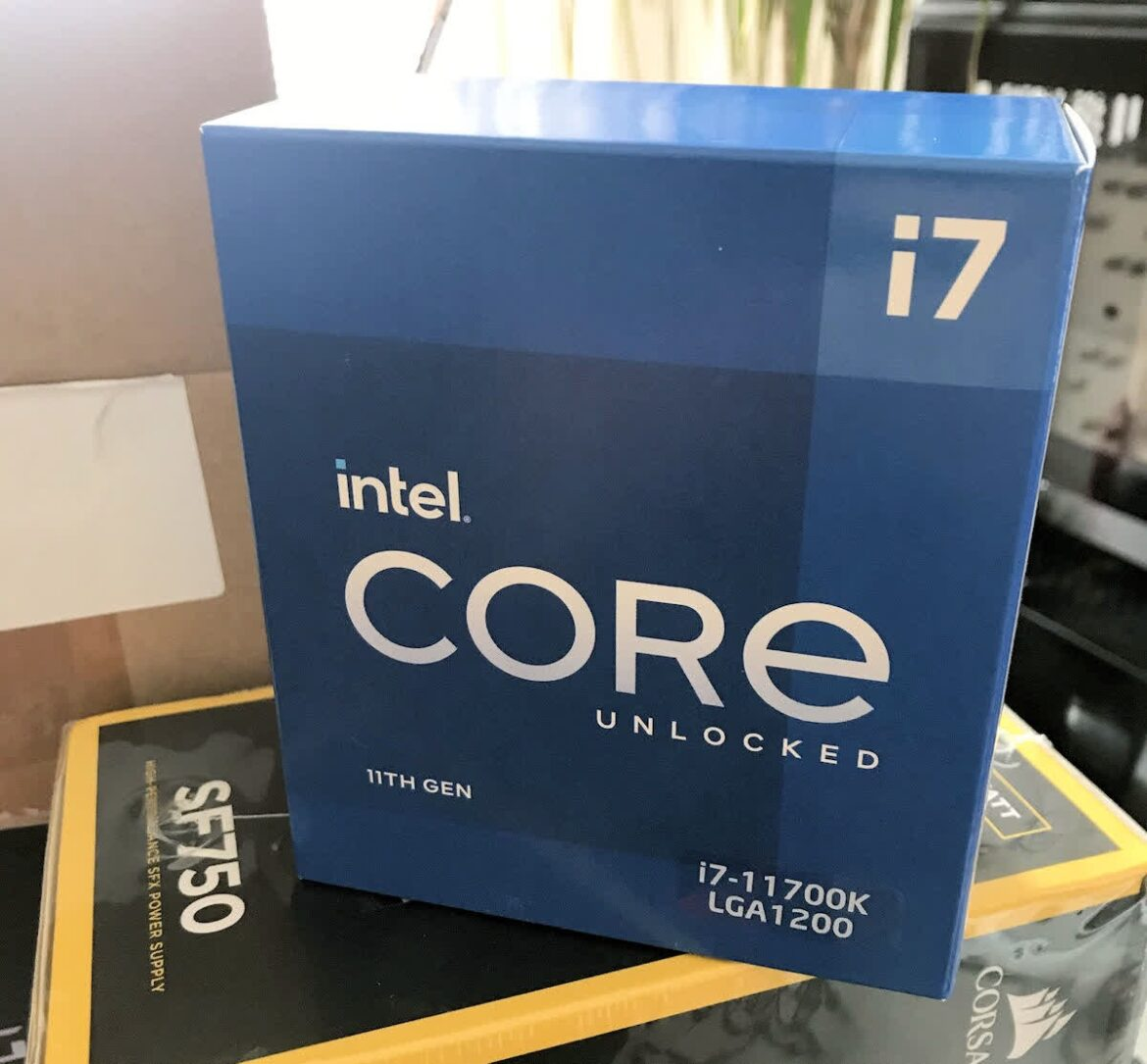Intel's unreleased i7-11700K is being sold and shipped in Germany